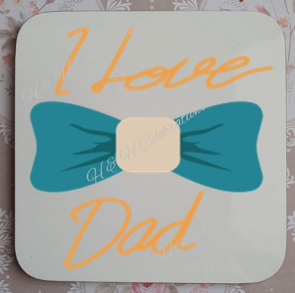 Father's Day Coaster Design 6